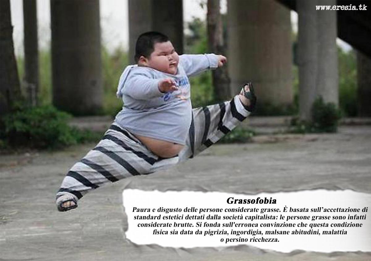 grasso fobia