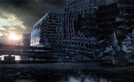 città in rovina
