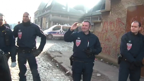 Copwatch nord ile de france for Police nationale lille