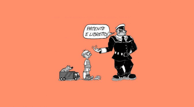 Saronno ordina: la polizia deve multare!