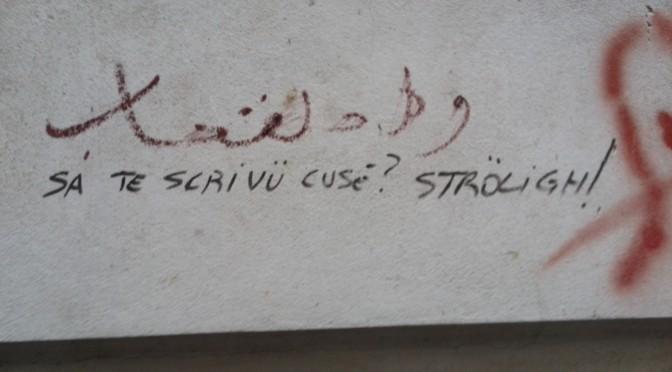 Se i muri potessero parlare…