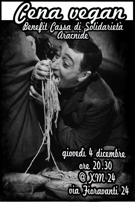 cena benefit xm - 4 dicembre 2014