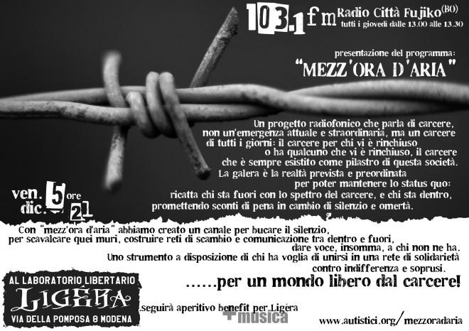 presentazione al Ligèra - 5,12,2014