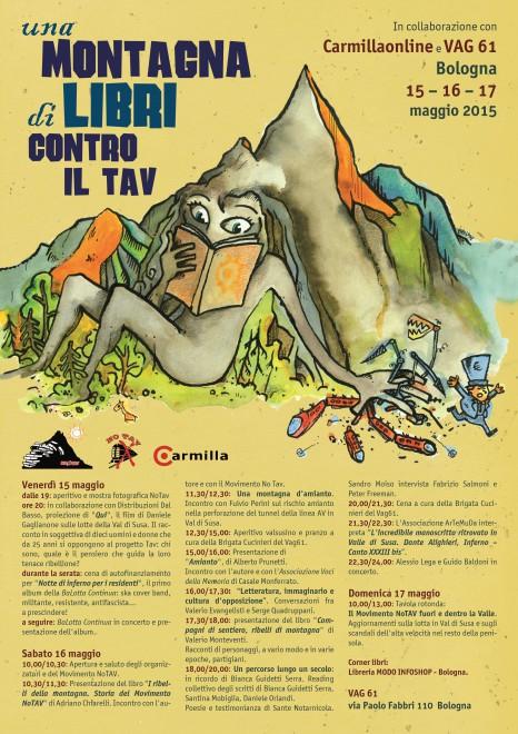 Una montagna di libri contro il Tav @ Vag61 | Bologna | Emilia-Romagna | Italia