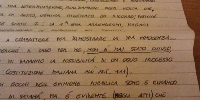 Scritto dal carcere femminile di Brieva per la compagna per cui è stata chiesta l'estradizione