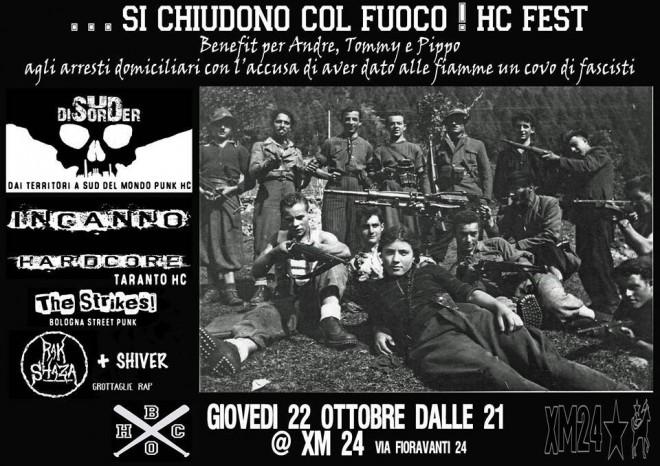 …Si chiudono col fuoco! HC Fest @ Xm24 | San Giovanni In Persiceto | Emilia-Romagna | Italia