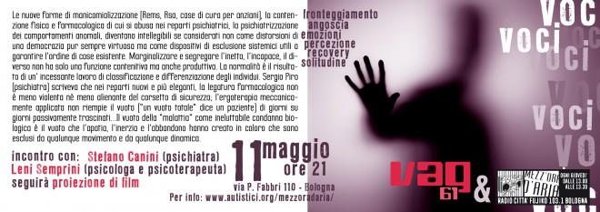 Discussione con Stefano Canini e Leni Semprini con proiezione di un documentario @ Vag 61 | Bologna | Emilia-Romagna | Italia