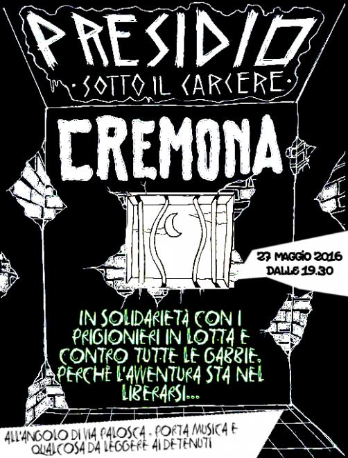 Cremona presidio carcere - 27 maggio 2016