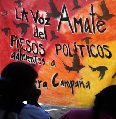 21 ott: azione internazionale per i prigionieri in Chiapas