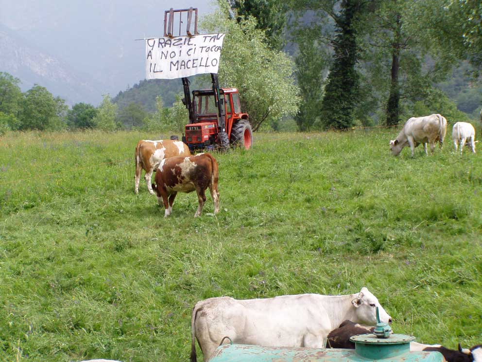 Anche gli agricoltori dicono no tav