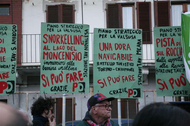 cartelloni sul PD