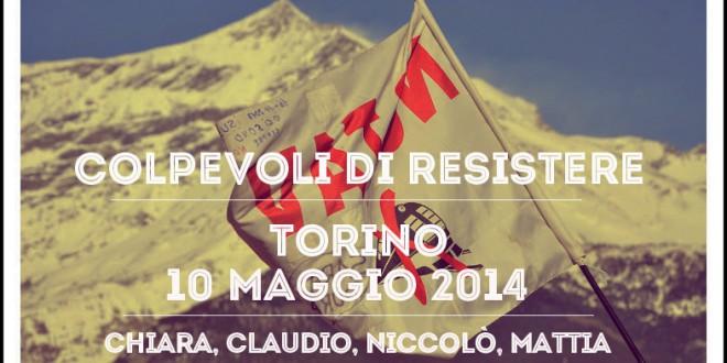 """10 maggio – Manifestazione nazionale """"COLPEVOLI DI RESISTERE"""""""