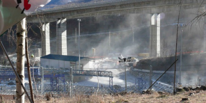 Nel centro di Chiomonte aumenta sensibilmente l'inquinamento da polveri sottili