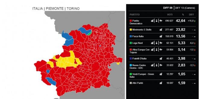 Il voto no tav della Valle di Susa