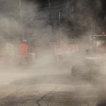 polvere sulla strada