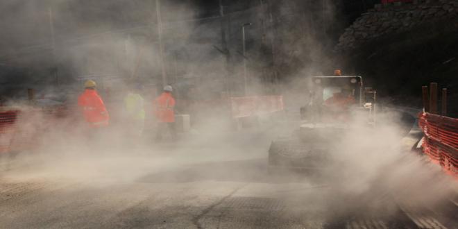Il report di Arpa sulle polveri e l'imbarazzante risposta di Telt