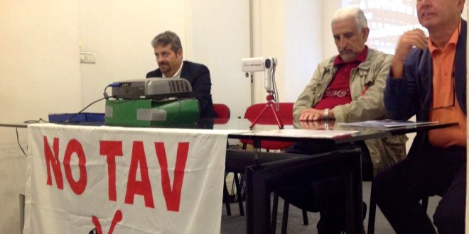 L'innovativa conferenza stampa #notav del telegiornale Rai