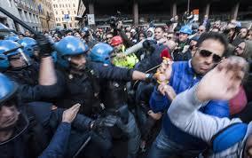"""Solidarietà operai AST Terni """"La comune dignità"""""""