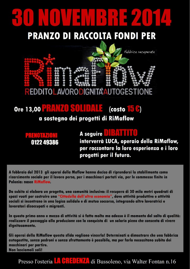Benefit RiMaflow 30-11-2014