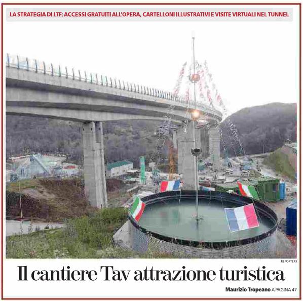 La prima pagina della cronaca di Torino de La Stampa