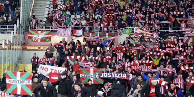 Toro – Athletic Bilbao: una bandiera no tav fa tremare lo stadio Olimpico