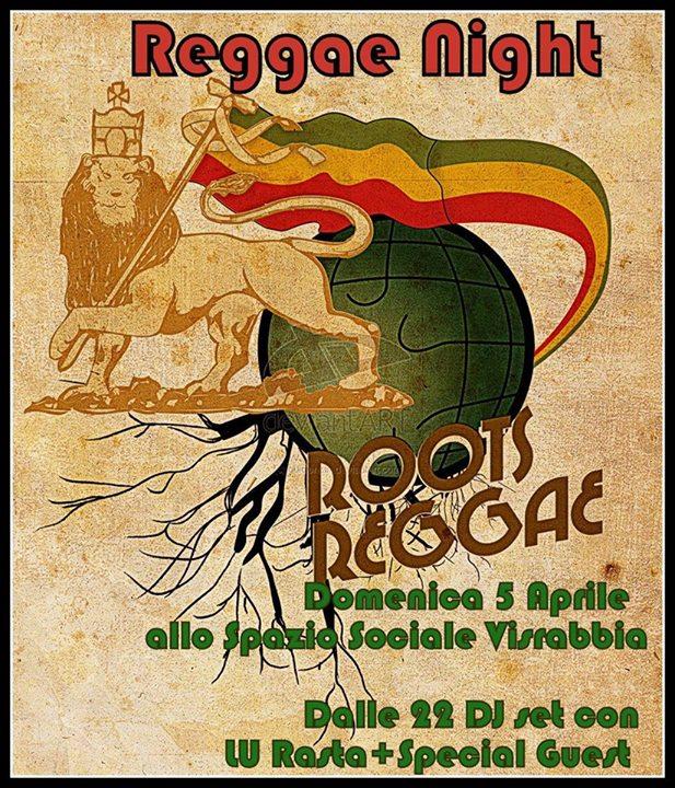 Reggae night 5-4-2015
