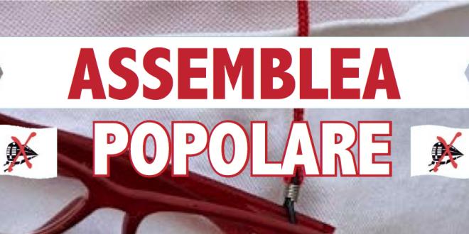 Lunedì 27 aprile, h 21, al Palanotav di Bussoleno: assemblea popolare