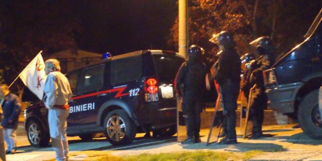 Militarizzazione e resistenza: un'altra serata di lotta in Clarea