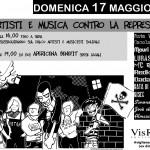 Artisti e musica contro la repressione 17-5-2015