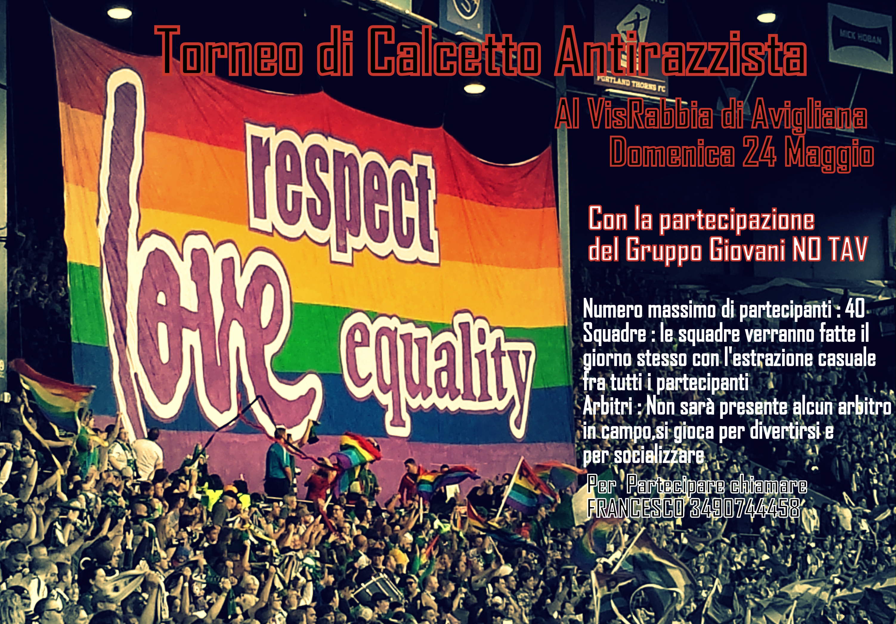 Torneo Antirazzista 24-5-2015