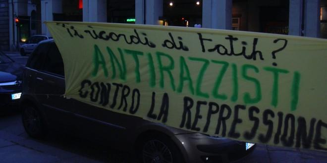 Condanne per gli antirazzisti torinesi: chi non ferma la barbarie ne è complice