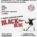 17-10 spettacolo teatrale black bloc