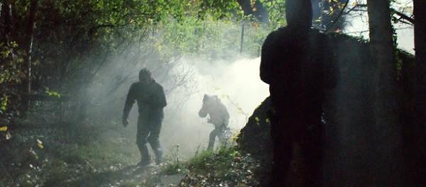Battitura a sorpresa in Clarea, lacrimogeni e idranti (VIDEO)