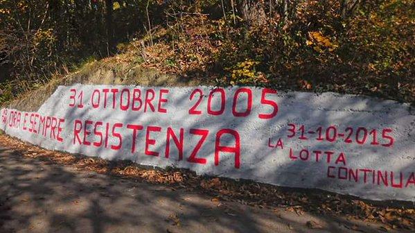 Seghino 2005-2015 la resistenza no tav continua!