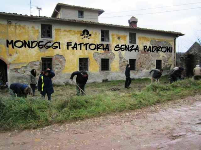 8 dicembre 2015 Tutti a Firenze a sostegno di Mondeggi Bene Comune e dell'agricoltura contadina