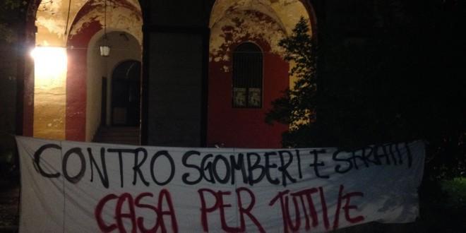 NO TAV, il movimento è solidale con gli occupanti di Via Asti