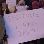 protesta lampedusa