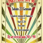 Party 80-90 23-1-2016