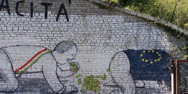 Nuovo murales di BLU in centrale a Chiomonte + VIDEO