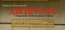 """5 Luglio – Presentazione del documentario """"Archiviato, l'obbligatorietà dell'azione penale in Valsusa"""""""
