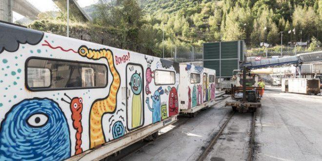 Arte/propaganda nel tunnel tav: la presa di distanza di uno dei tre artisti