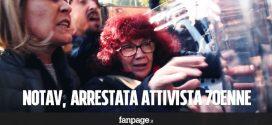 """VIDEO – L'arresto di Nicoletta: l'attivista 70enne """"evasa"""" dai domiciliari"""