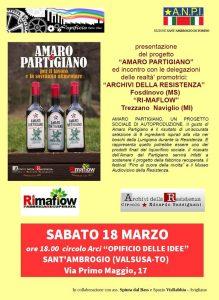 Amaro partigiano 17-18 marzo 2017