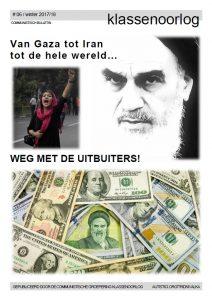Klassenoorlog 062018 Van Gaza Tot Iran Tot De Hele Wereld Weg Met